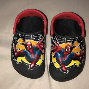 Light up spider 🕷 man crocs (comfort)